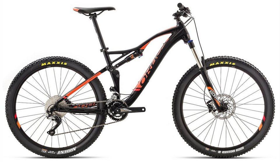 ORBEA Fully Mountainbike, 27,5, 22 Gang Shimano SLX Kettenschaltung, »Occam AM H50« in schwarz-orange