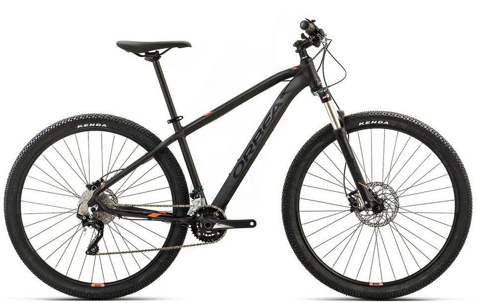 ORBEA Hardtail Mountainbike, 29 Zoll, 20 Gang Shimano XT Kettenschaltung, »MX 20« in schwarz-orange