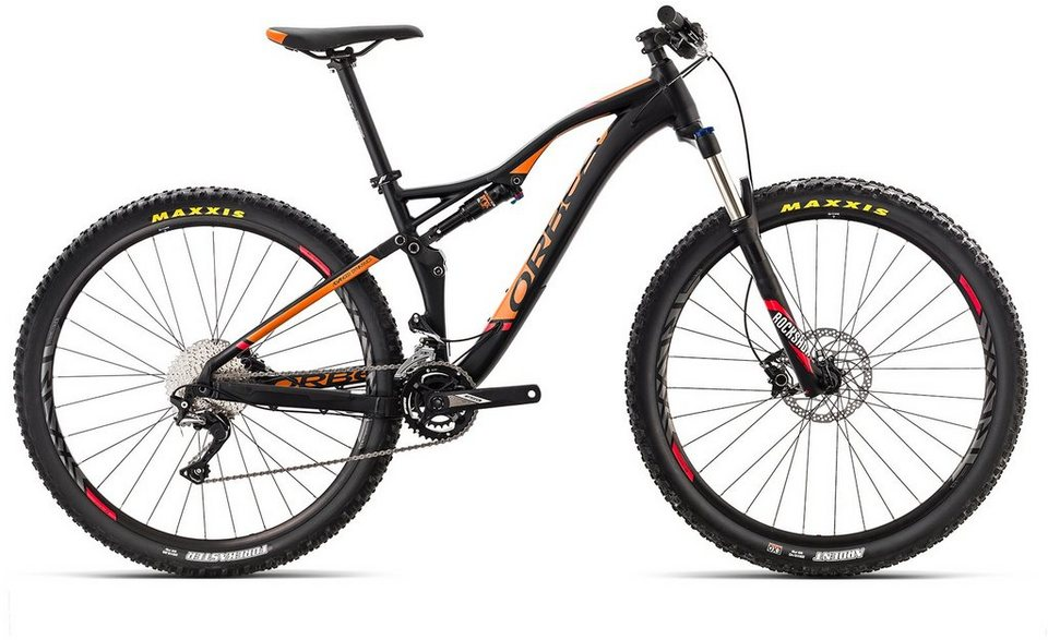 orbea fully mountainbike 29 zoll 22 gang shimano slx. Black Bedroom Furniture Sets. Home Design Ideas