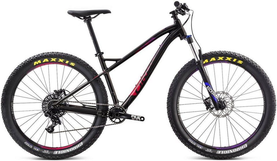 ORBEA Hardtail Mountainbike, 27,5 Zoll, 11 Gang SRAM NX Kettenschaltung, »Loki H20 27+« in schwarz-violett