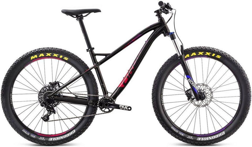 ORBEA Hardtail Mountainbike, 27,5 Zoll, 11 Gang Shimano SLX Kettenschaltung, »Loki H30 27+« in schwarz-violett