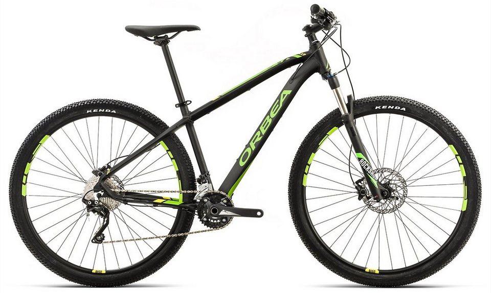 ORBEA Hardtail Mountainbike, 29 Zoll, 20 Gang XT Kettenschaltung, »MX 10« in schwarz-gelb-grün