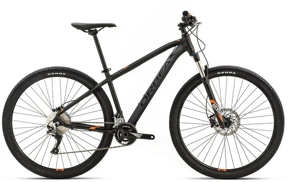 ORBEA Hardtail Mountainbike, 29 Zoll, 22 Gang Shimano SLX Kettenschaltung, »MX MAX« in schwarz-orange