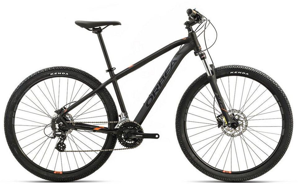 ORBEA Hardtail Mountainbike, 29 Zoll, 24 Gang Shimano Altus Kettenschaltung, »MX 40« in schwarz-orange