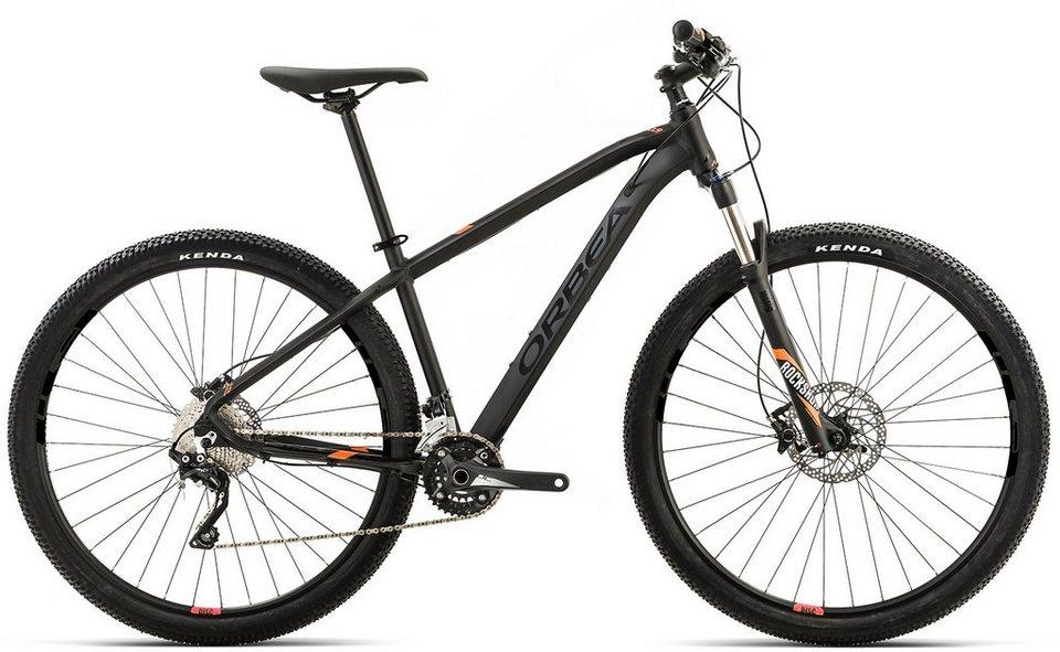 ORBEA Hardtail Mountainbike, 27,5 Zoll, 20 Gang XT Kettenschaltung, »MX 10« in schwarz-orange