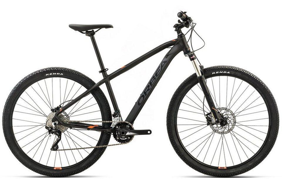 ORBEA Hardtail Mountainbike, 27,5 Zoll, 20 Gang Shimano XT Kettenschaltung, »MX 20« in schwarz-orange