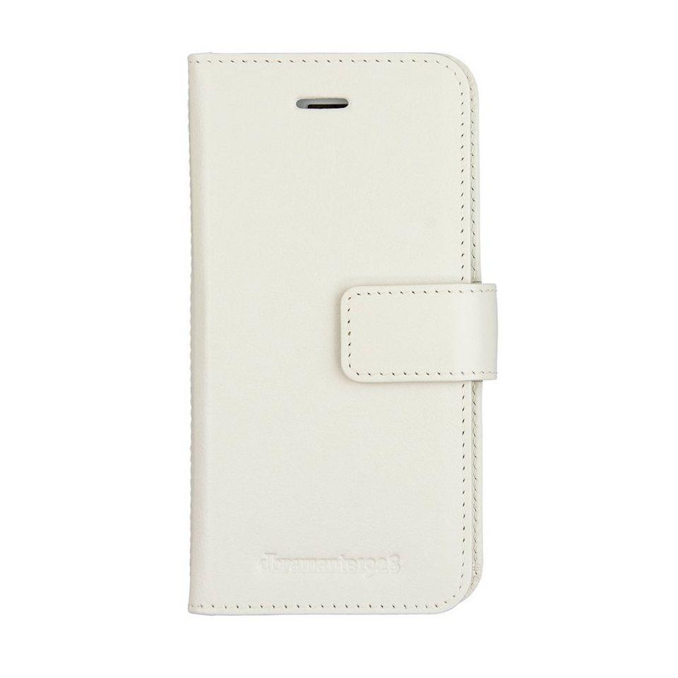dbramante1928 LederCase »Folio Lynge 2 iPhone (7) Antique White« in weiss