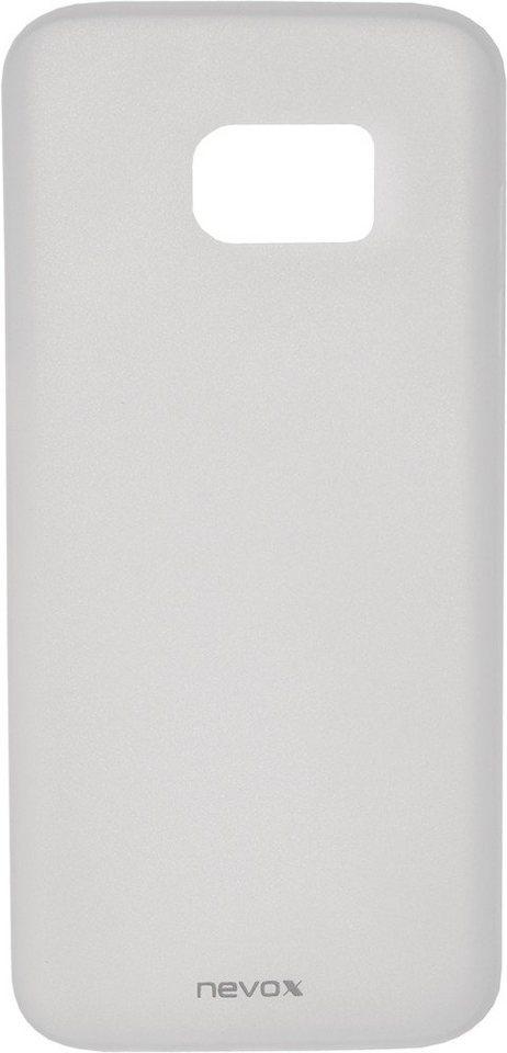 Nevox Ultradünnes Polypropylen Cover für das Galaxy S7 edge »StyleShell Air« in weiß