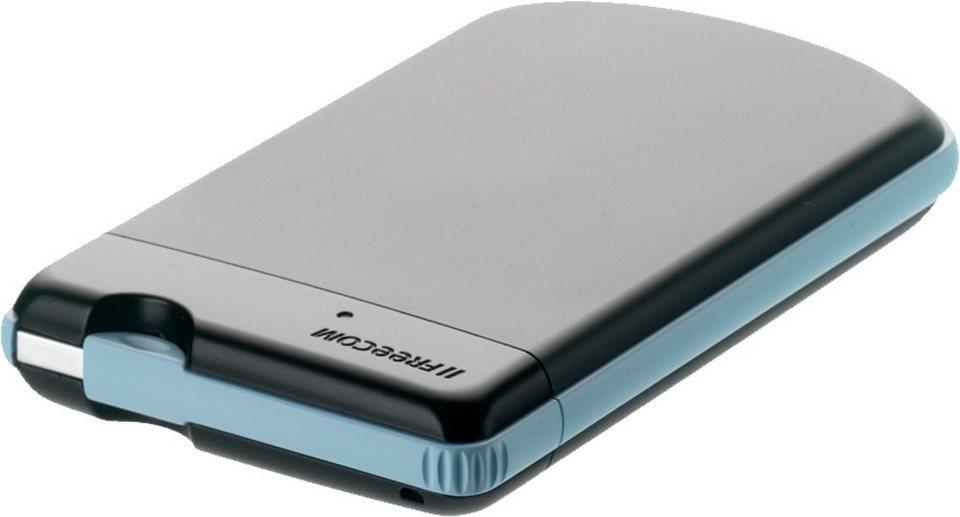 FREECOM Festplatte 2TB, USB 3.0, 6.35cm (2.5), schwarz in black