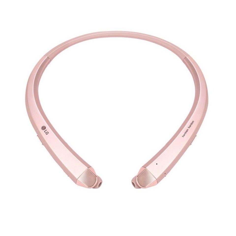 LG Einziehbarer Premium Bluetooth In-Ear-Kopfhörer »Tone Infinim« in rose gold
