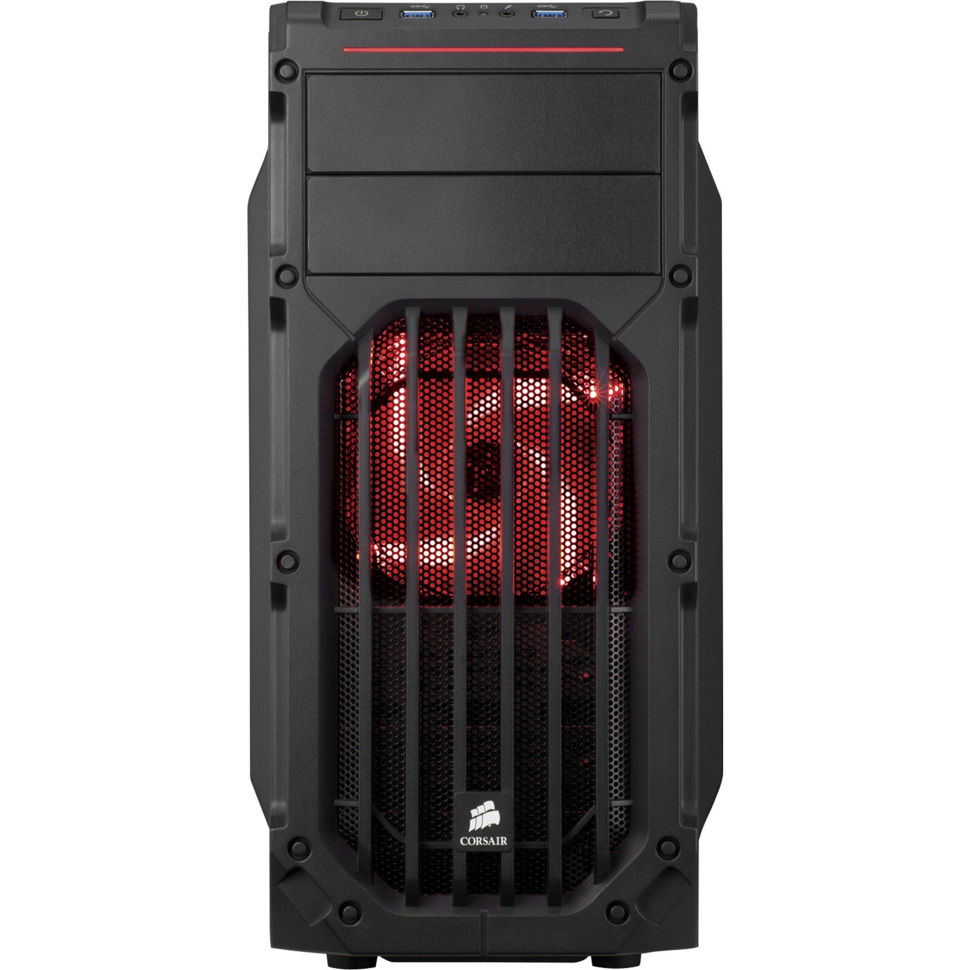 Corsair Tower-Gehäuse »SPEC-03 Red LED«