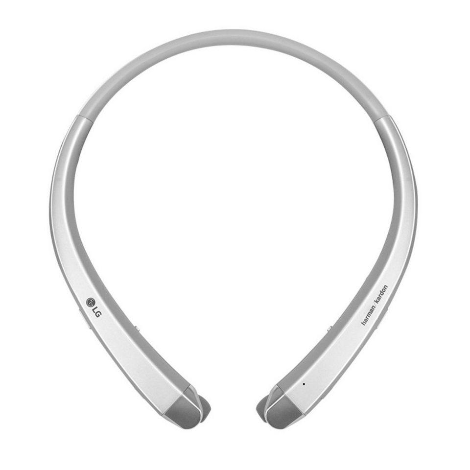 LG Einziehbarer Premium Bluetooth In-Ear-Kopfhörer »Tone Infinim« in silver