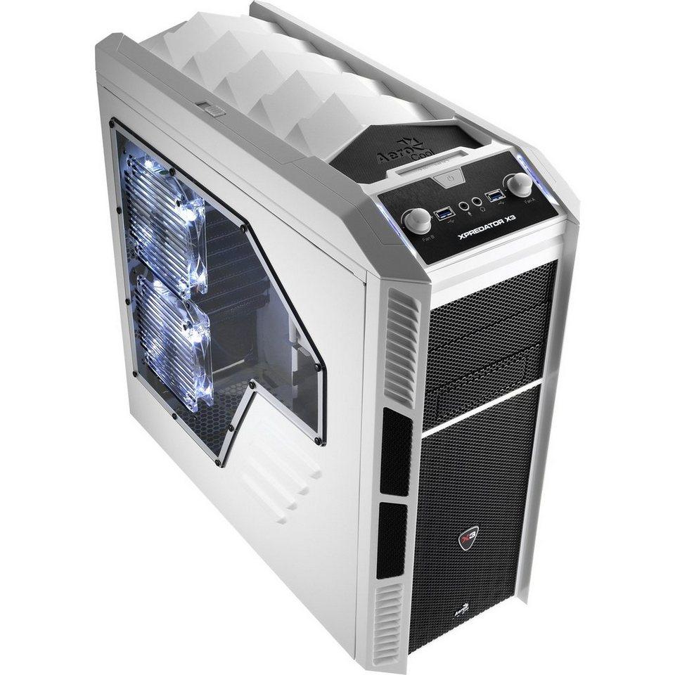 Aerocool Tower-Gehäuse »XPredator X3 White Edition«