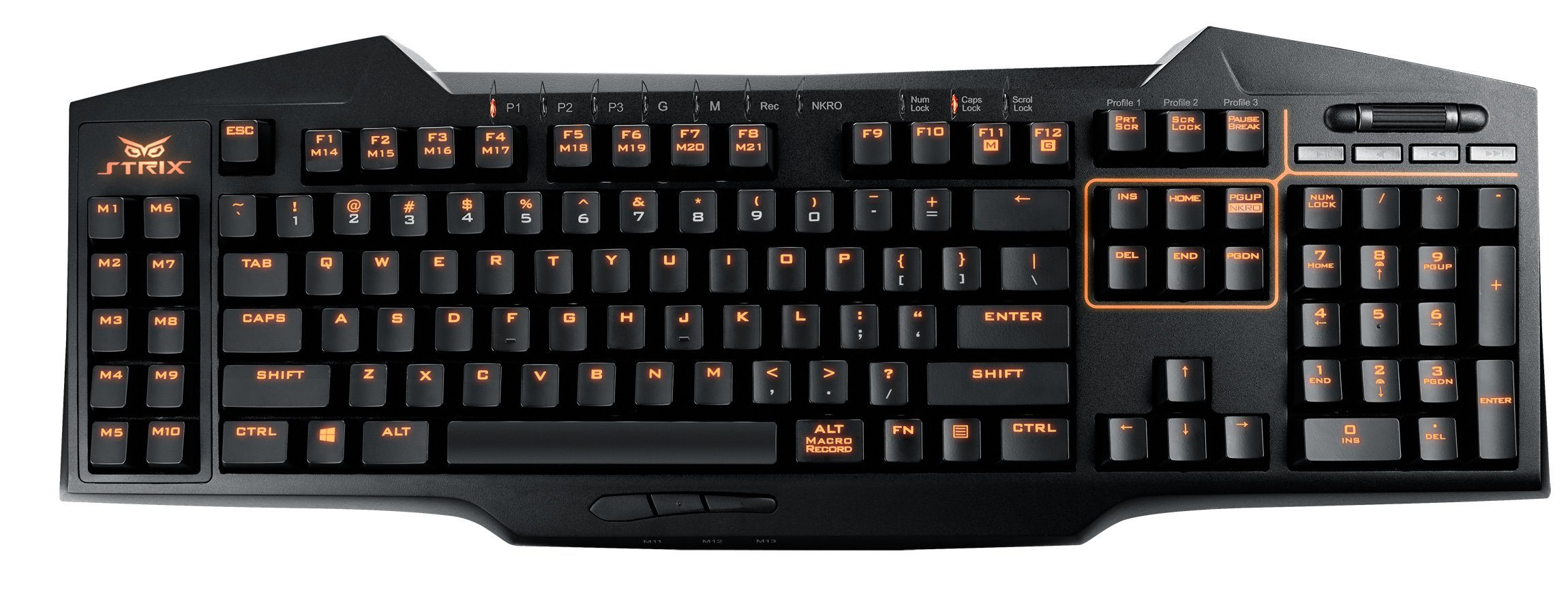 ASUS Gaming Keyboard Strix Tactic Pro