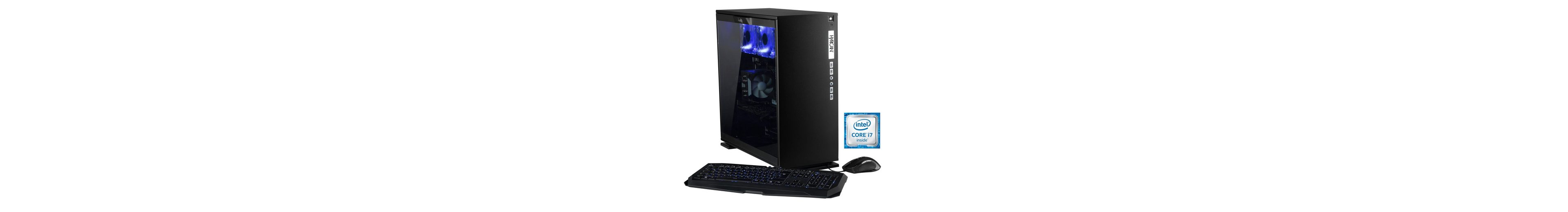 Hyrican Gaming PC Intel® i7-6850K, 32GB, SSD + HDD, GeForce® GTX 1080 »Elegance 5342 noir«