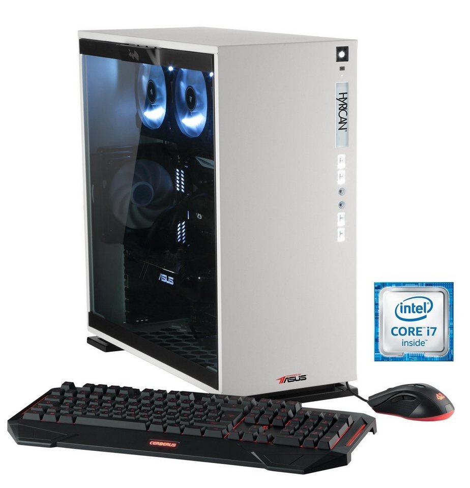 Hyrican Gaming PC Intel® i7-6700K, 16GB, GeForce GTX® 1070 »Elegance 5313 blanc - powered by ASUS«