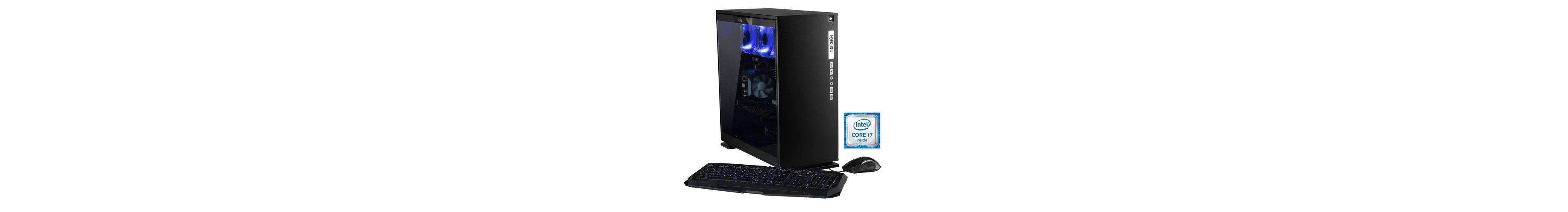 Hyrican Gaming PC Intel® i7-6700K, 32GB, 1TB, 500GB, GeForce GTX® 1080 »Elegance 5338 noir«