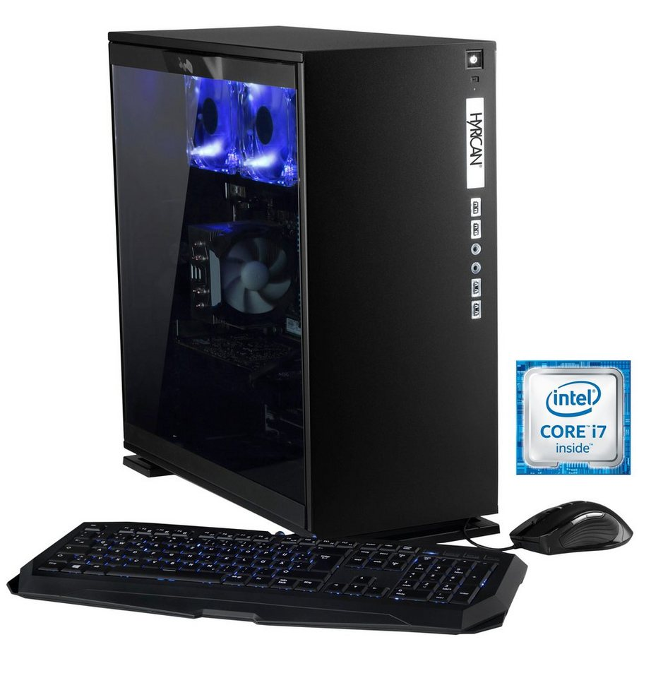 Hyrican Gaming PC Intel® i7-6700K, 16GB, 1TB, 250GB, GeForce GTX® 1080 »Elegance 5336 noir«