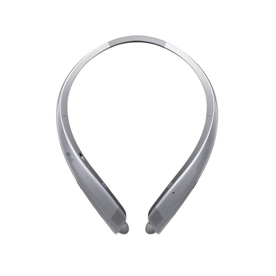 LG Einziehbarer Premium Bluetooth In-Ear-Kopfhörer »Tone Platinum« in silver