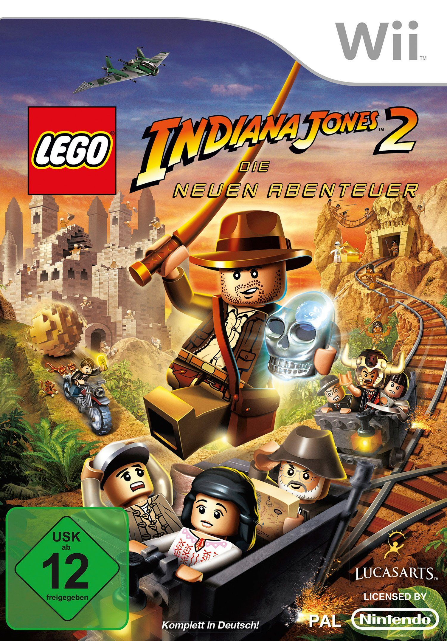 DISNEY Software Pyramide - Nintendo Wii Spiel »LEGO Indiana Jones 2«