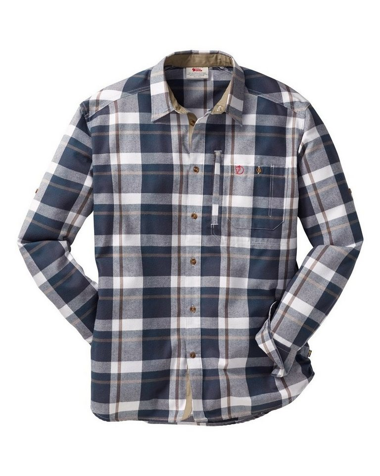 Fjällräven Fjällglim Shirt in Grau/Blau