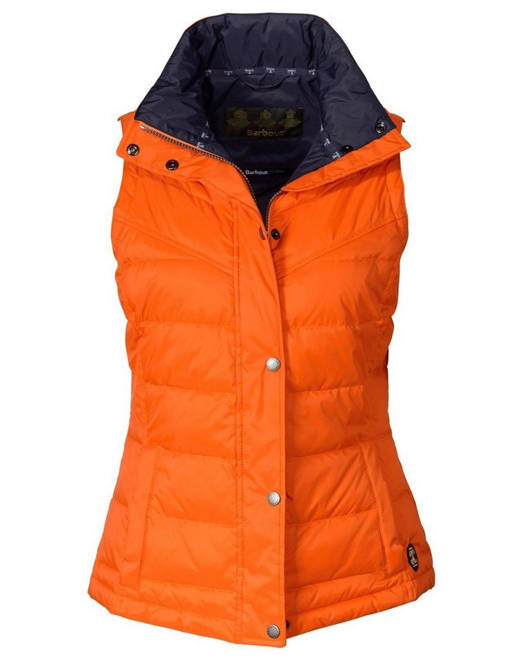 Barbour Steppweste Bowline in Orange