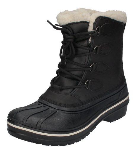 Crocs »AllCast II Boot« Winterstiefel Schwarz (Black)