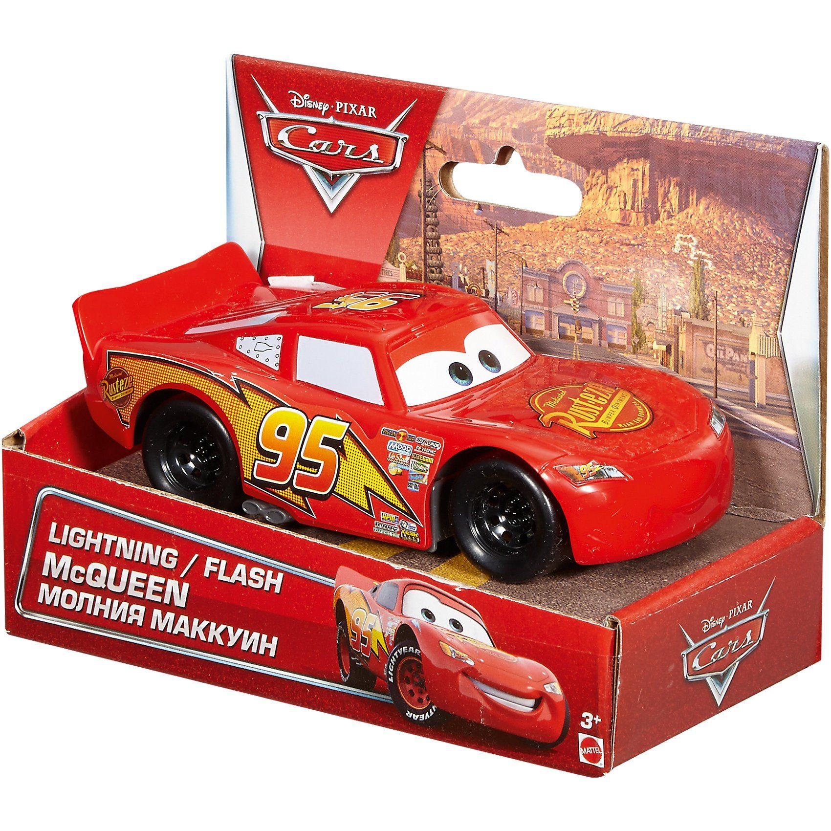 Mattel Disney Cars Lightning McQueen Fahrzeug