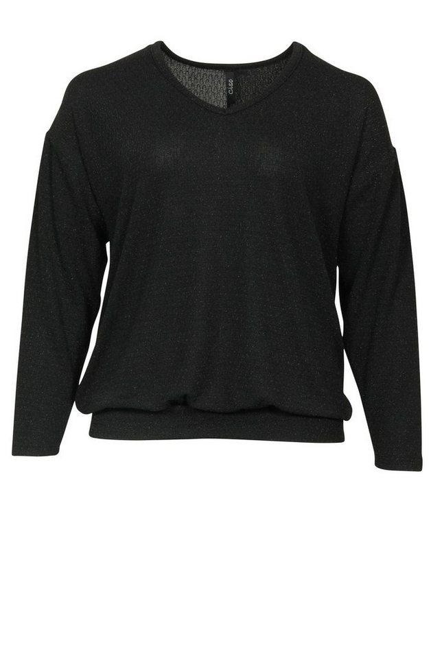Ciso Shirtbluse in schwarz