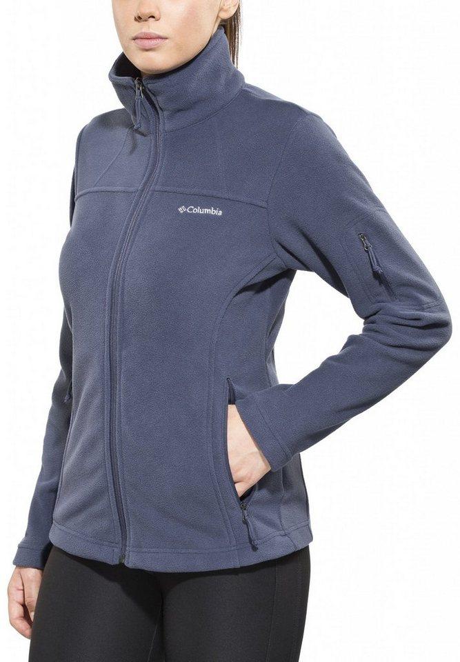 Columbia Outdoorjacke »Fast Trek II Jacket Women« in blau