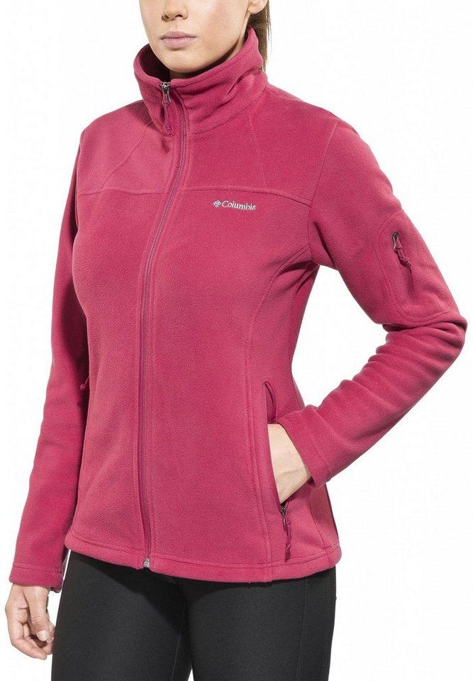Columbia Outdoorjacke »Fast Trek II Jacket Women« in rot