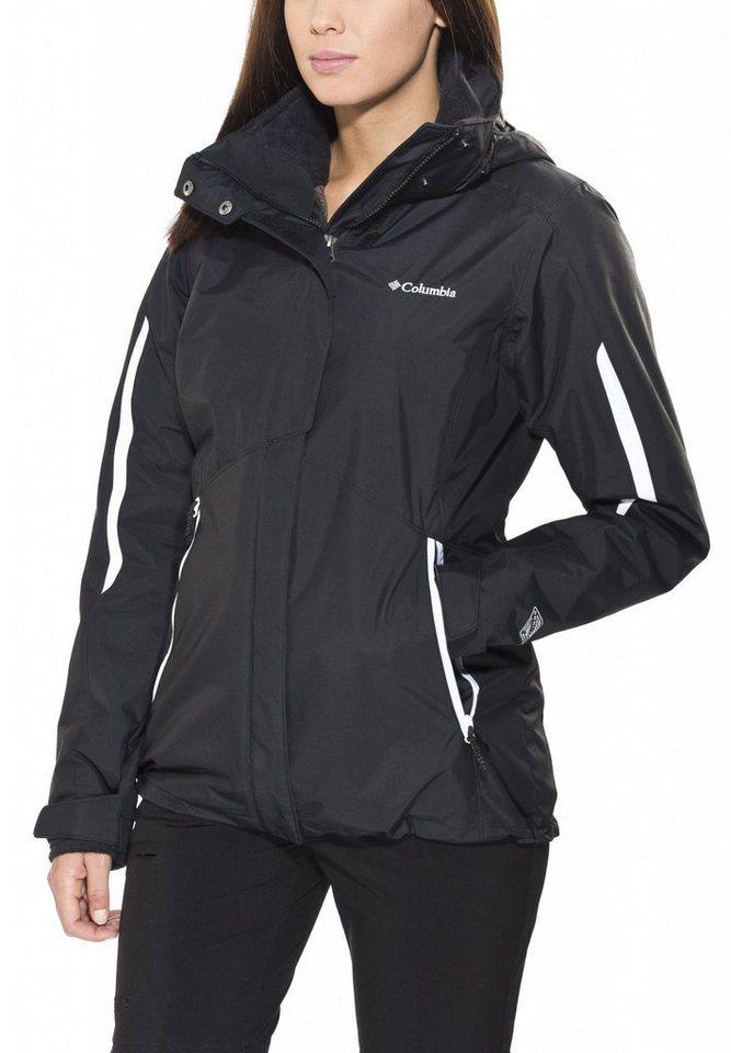 Columbia Outdoorjacke »Bugaboo Interchange Jacket Women« in schwarz