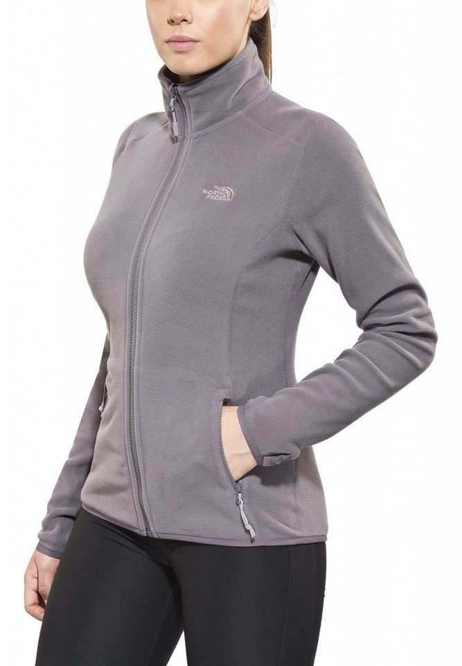 The North Face Outdoorjacke »100 Glacier Full Zip Women« in grau