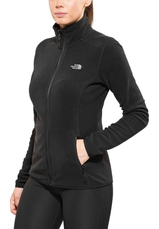 The North Face Outdoorjacke »100 Glacier Full Zip Women« in schwarz