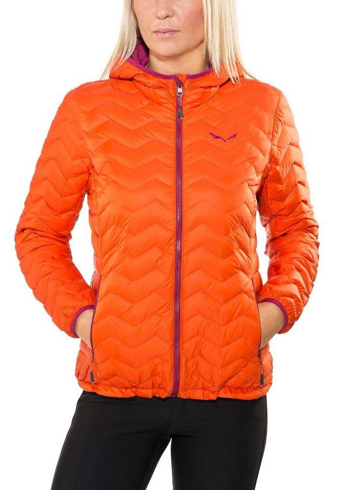 Salewa Outdoorjacke »Fanes Down Jacket Women« in orange
