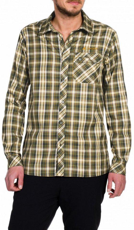 VAUDE Hemd »Neshan II LS Shirt Men« in braun