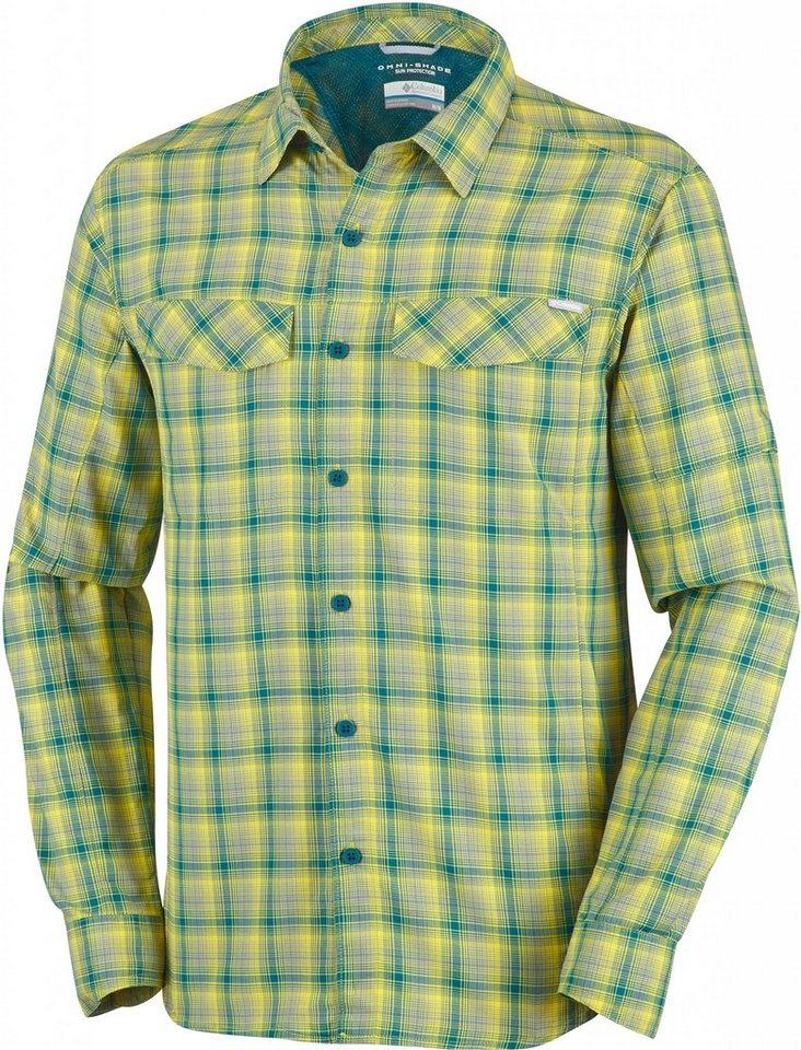 Columbia Hemd »Silver Ridge Plaid Long Sleeve Shirt Men« in gelb