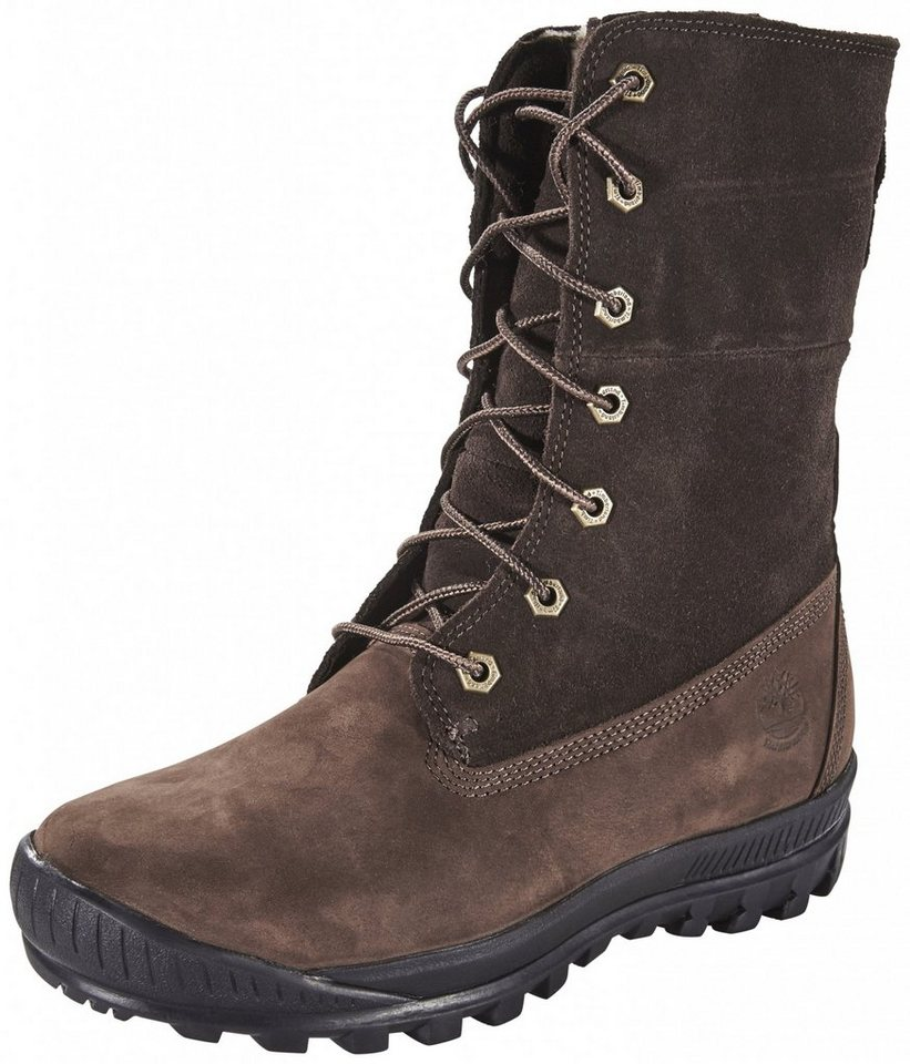 Timberland Winterstiefel »Woodhaven YLW Teddy Women« in braun