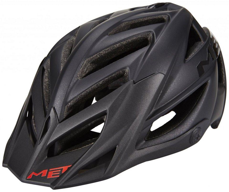 MET Fahrradhelm »Terra Hel« in schwarz