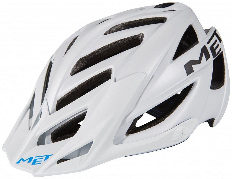MET Fahrradhelm »Terra Hel« in weiß