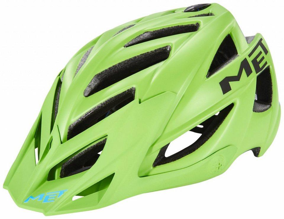 MET Fahrradhelm »Terra Hel« in grün