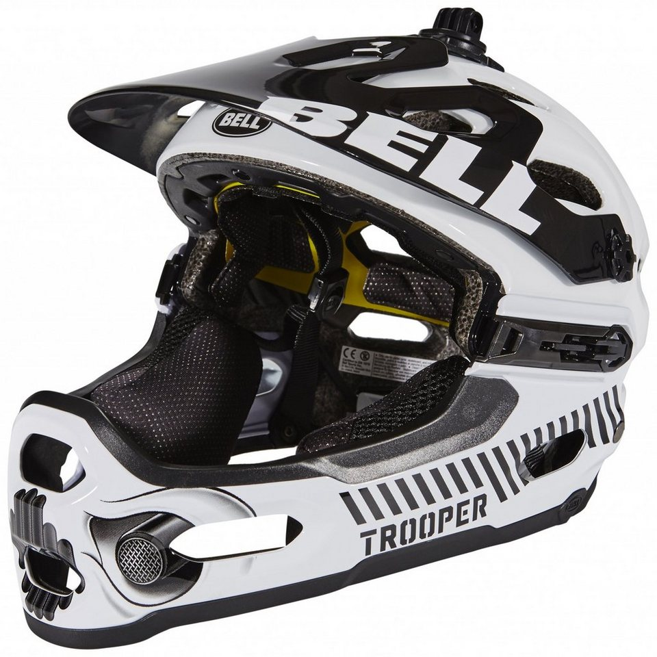 Bell Fahrradhelm »Super 2R Mips Star Wars Helmet Limited Edition« in weiß