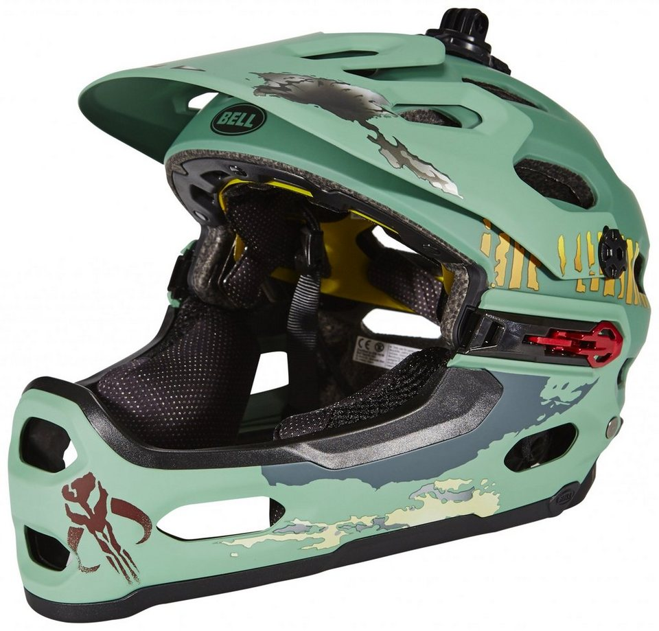 Bell Fahrradhelm »Super 2R Mips Star Wars Helmet Limited Edition« in grün