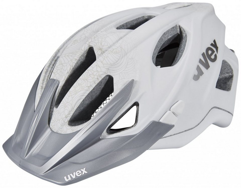 Uvex Fahrradhelm »stiva cc Helm Damen« in weiß