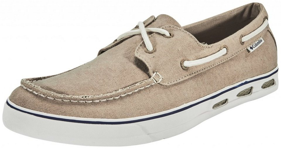 Columbia Freizeitschuh »Vulc N Vent Boat Canvas Shoes Men« in beige