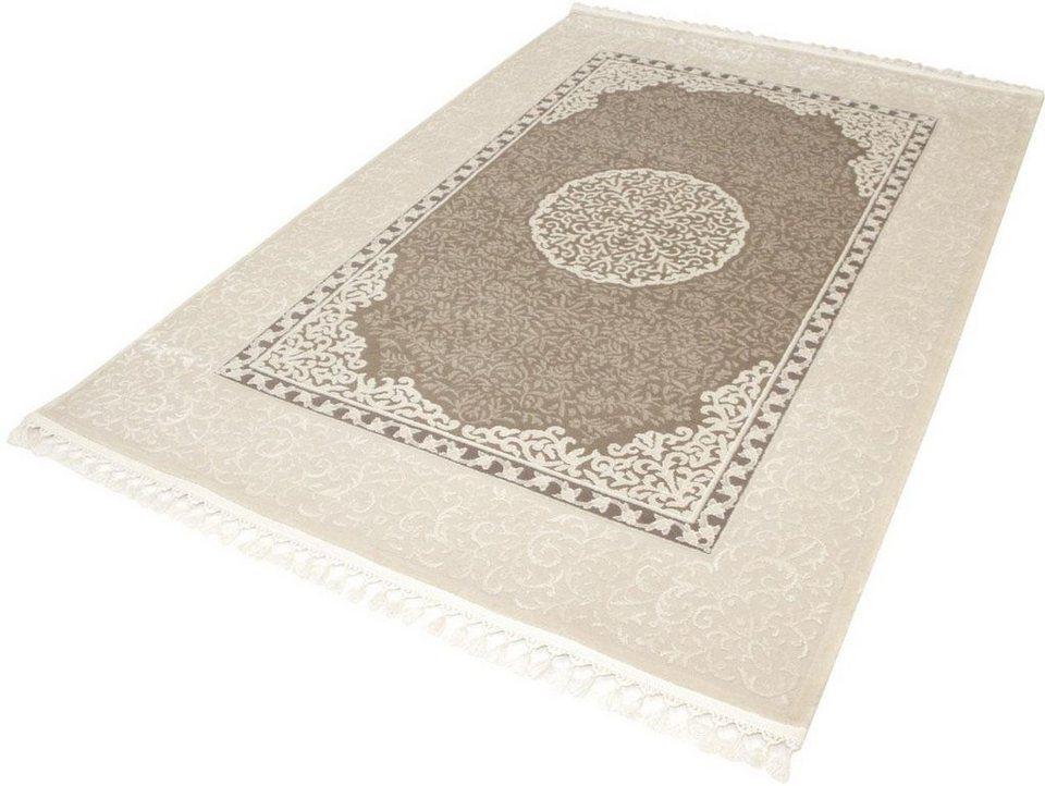 Orient-Teppich, Sanat Hali, »Delüks 6802«, gewebt in braun