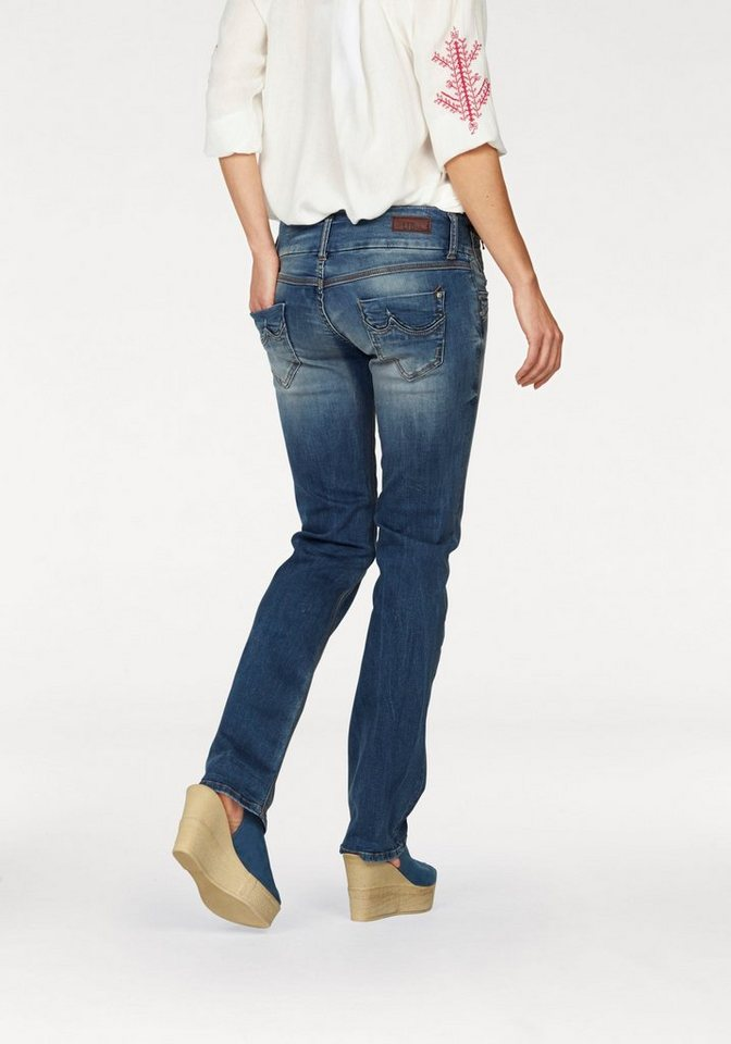 LTB Slim-fit-Jeans »Jonquil« in blue-calissa-Abriebeffekte-washed