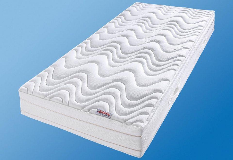 Tonnentaschenfederkern-Matratze, »Medisan DeLuxe T«, Schlaf-Gut