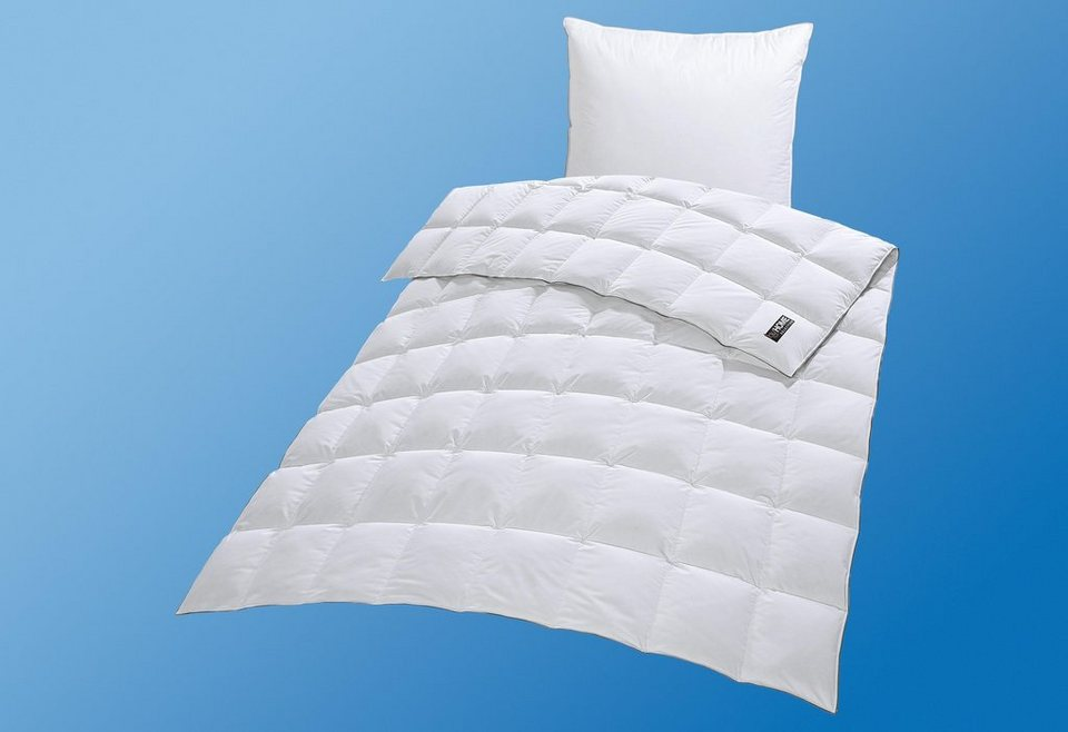 Bettdeckenset, »Mailand«, my home Selection, Leicht, 90% Daunen, 10% Federn