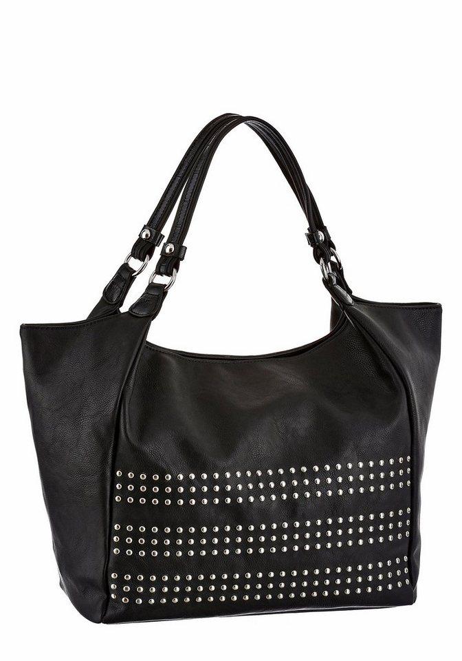 Melrose Shopper in schwarz